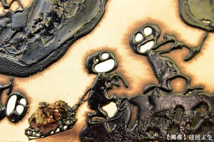 【台中西屯】世界第一柏油畫家邱錫勳個人畫展@吃美食,曬浪漫,看世界第一的巨幅畫作都在Beluga法式池畔餐廳