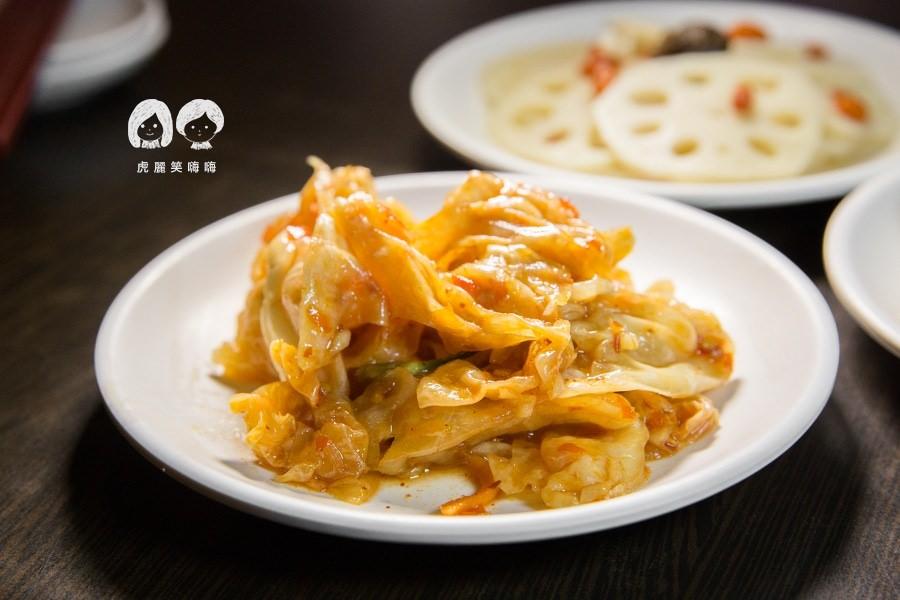山東姥姥 麵食館 高雄 小菜 韓式泡菜