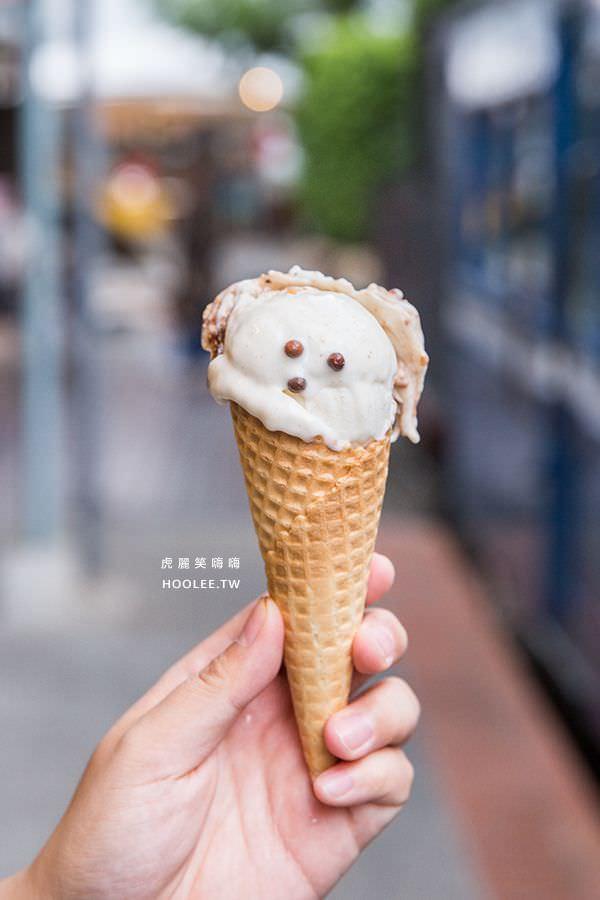 旗山車站 枝仔冰城 小雪人聖代NT$85 清冰+牛奶冰淇淋+巧克力餅乾