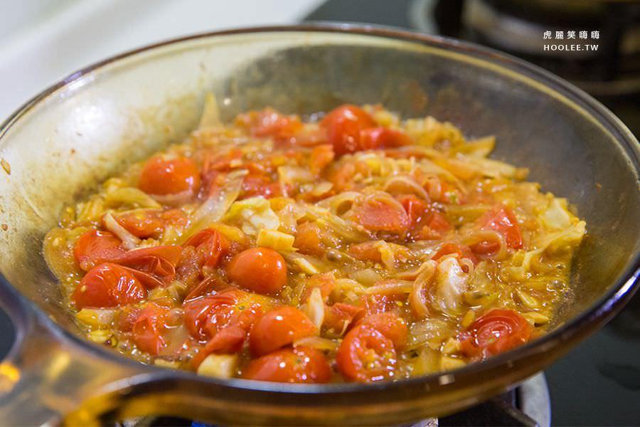初心亭 私房牛汁 一起拌麵 焗烤番茄牛汁拌麵