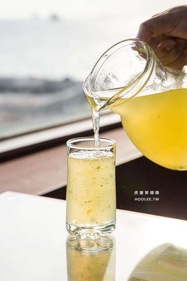 小紅食堂 金桔檸檬汁 紅毛港文化園區 高字塔旋轉餐廳
