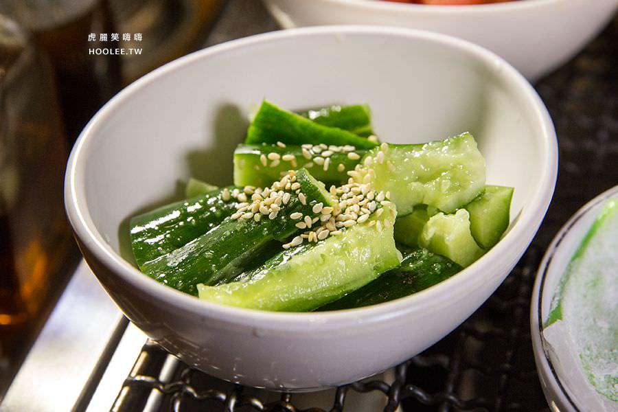 菜豚屋 高雄 日式韓式燒肉 酸甜小黃瓜