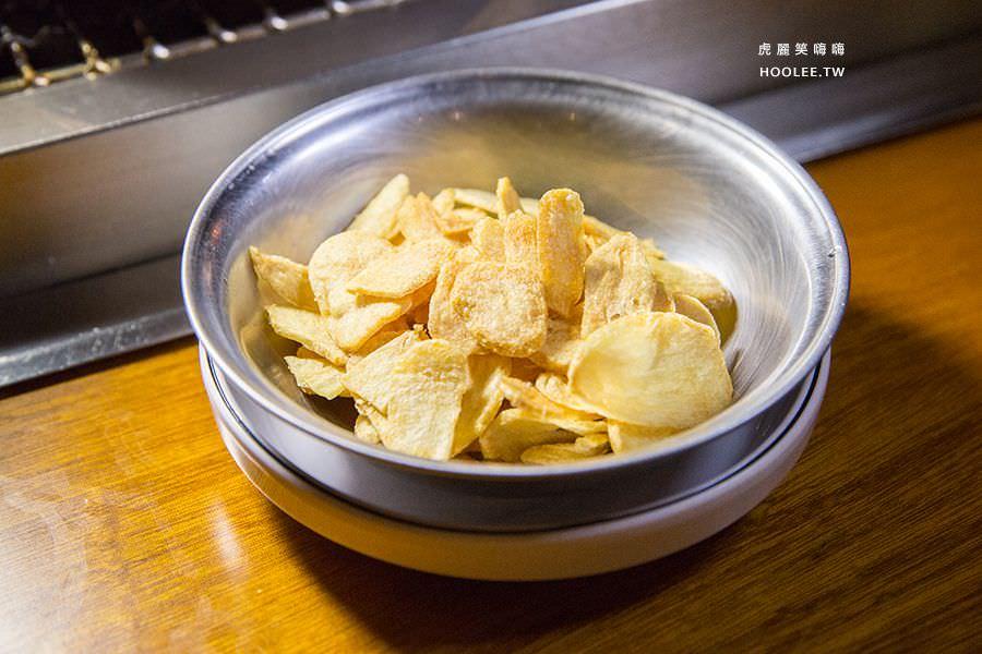 菜豚屋 高雄 日式韓式燒肉 蒜片