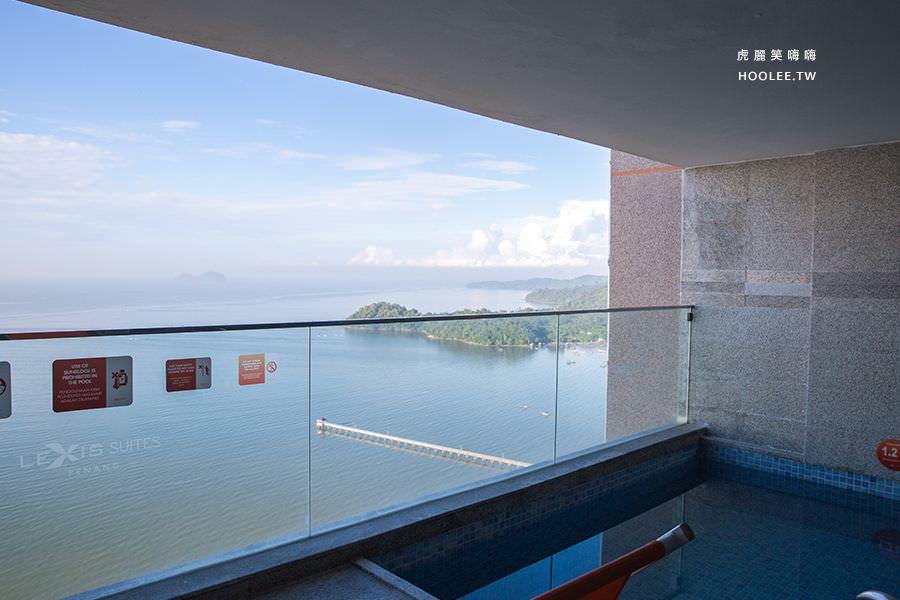 Lexis Suites Penang 檳城住宿推薦 檳城麗昇套房 海景