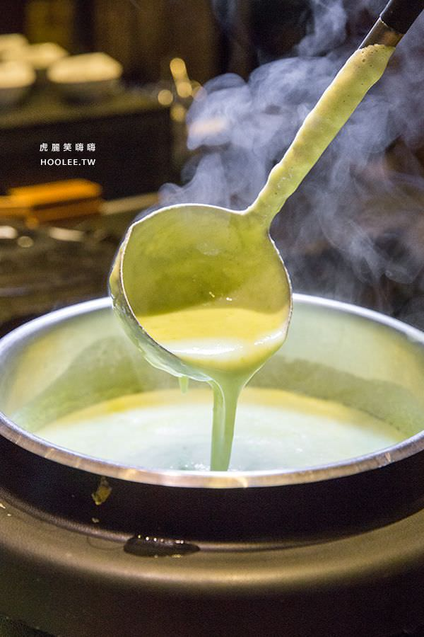 捷絲旅 蔬食百匯 Double Veggie 高雄素食吃到飽 青豆仁濃湯