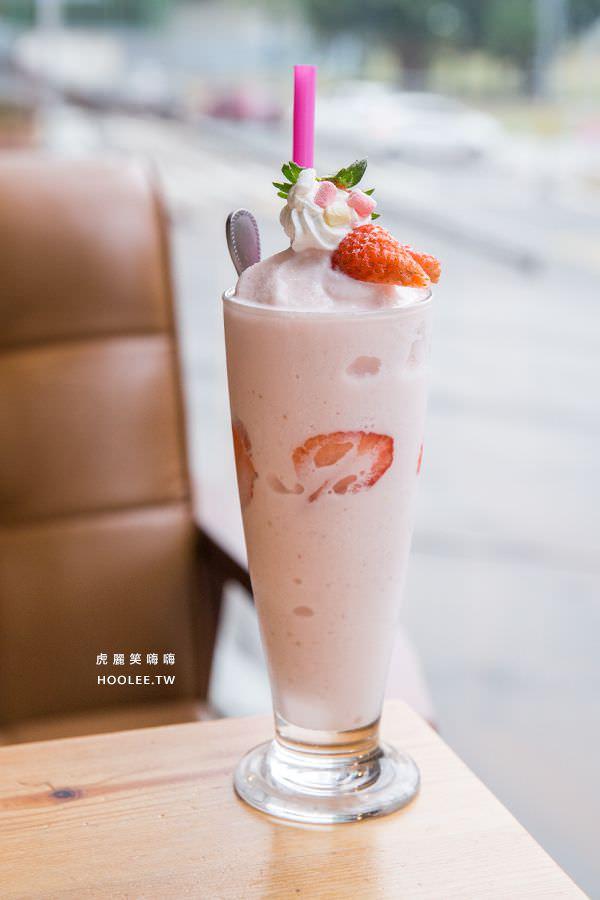 瑪莉桃桃 親子餐廳 草莓水果奶昔(季節限定) NT$150