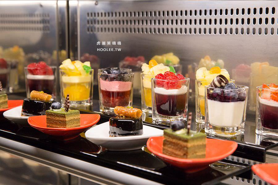 漢來大飯店45樓牛排 甜點、水果