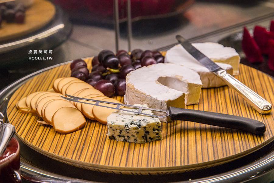 漢來大飯店45樓牛排 巴拉卡乳酪 欄乾酪 燻乾酪 布利乾酪