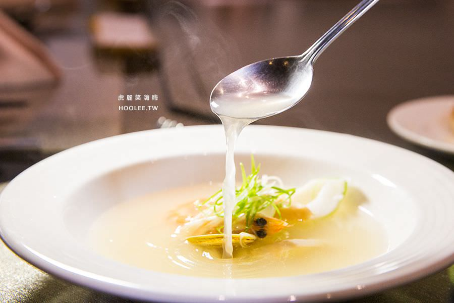 松悅鐵板燒 高雄鐵板燒推薦 海鮮清湯