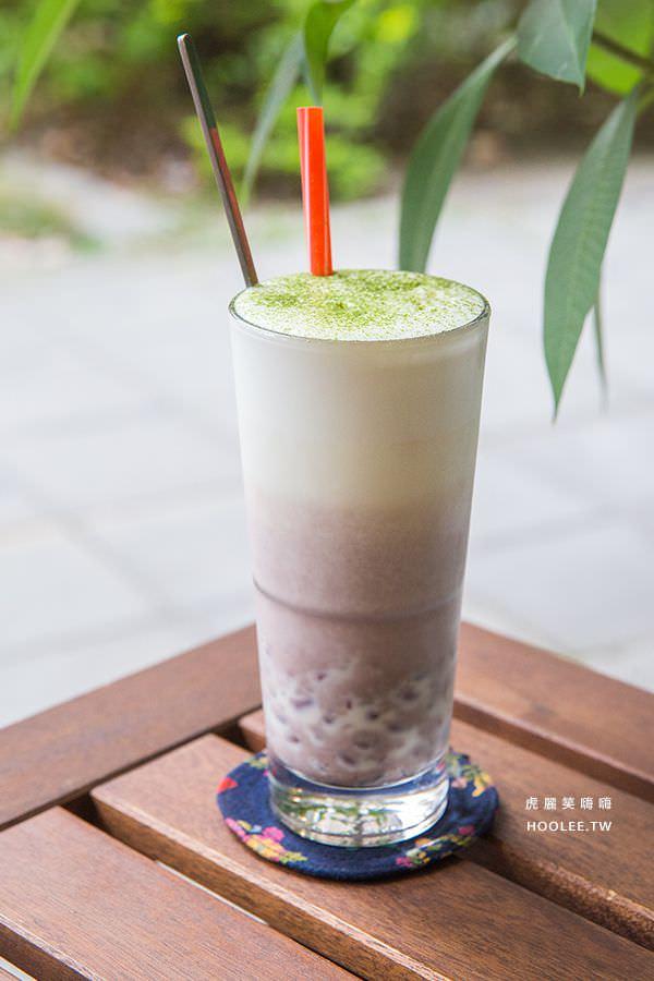 柒五參咖啡館 高雄早午餐 甜蜜蜜紅豆鮮奶茶 NT$140(折NT$60)
