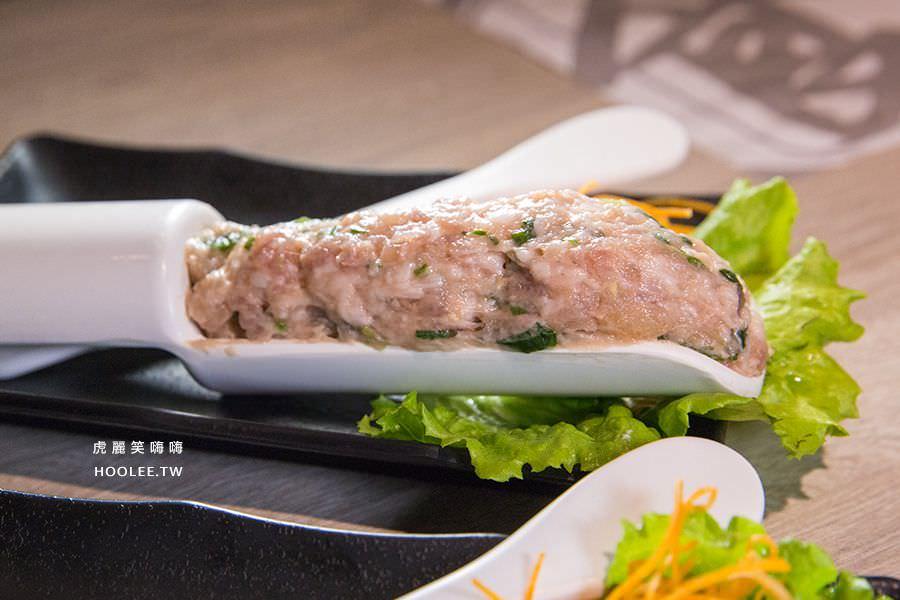 愛食鍋麻辣鴛鴦鍋 高雄火鍋推薦 海鮮豬肉漿 NT$198
