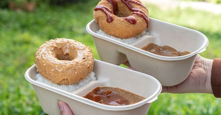 大丸家手作炸雞甜甜圈(台南)外帶甜甜圈咖哩澡盆飯!激推臭豆腐炸雞,還有會牽絲的起司花生醬炸豬