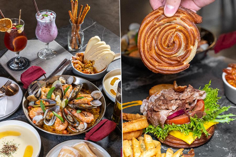 17號西班牙餐酒館(高雄)西班牙料理早午餐!可愛的紅酒蘑菇牛肉啾羅堡,還有海鮮烤飯雙人套餐