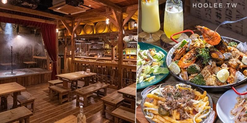 穀倉酒館(高雄)復古木作餐酒館!必點美式搖滾海鮮盤,還有手撕豬起司薯條及無酒精調飲