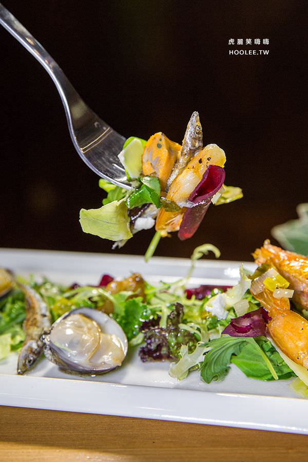 初味1.0 晚餐 海鮮沙拉