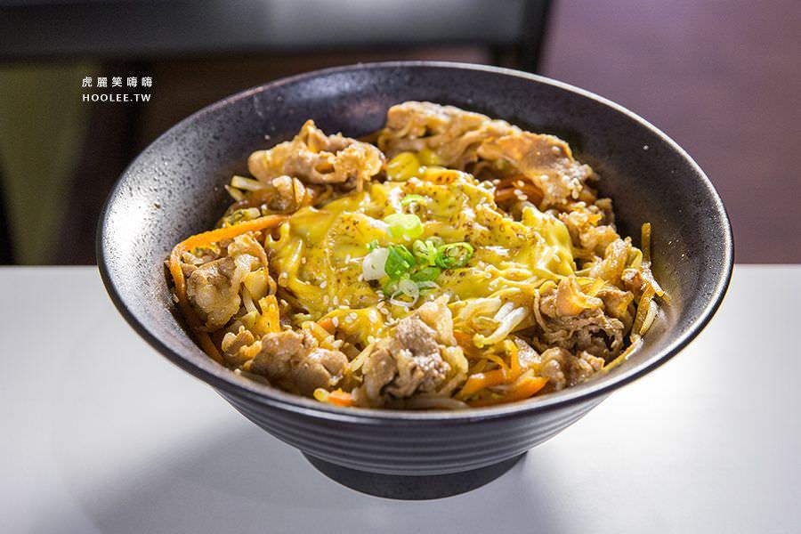 豚丼 日式炒麺 丼飯