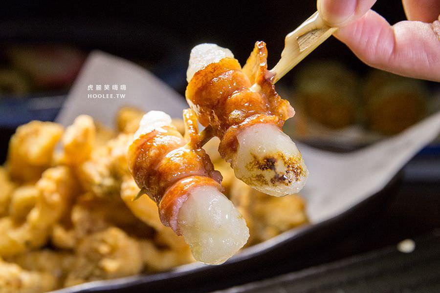 麻糬豚肉燒 2串 130