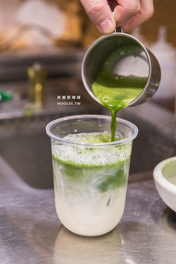 禾茶手作茶飲 建工店 抹茶歐蕾(無糖) NT$70 東茶園