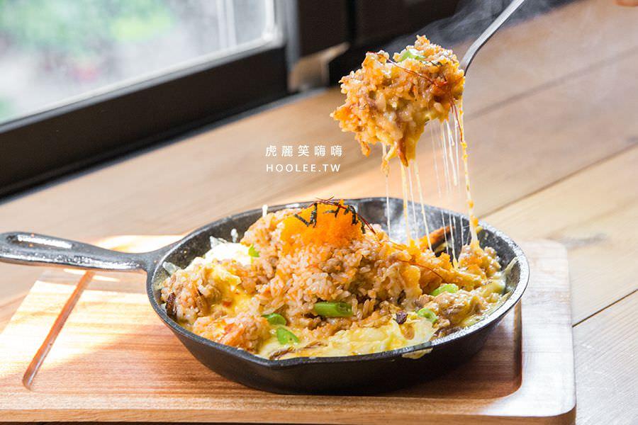 Awake coffee 巨蛋店 火山爆發櫻花蝦魚卵飯(微辣) 單點 NT$200 / 套餐 NT$300