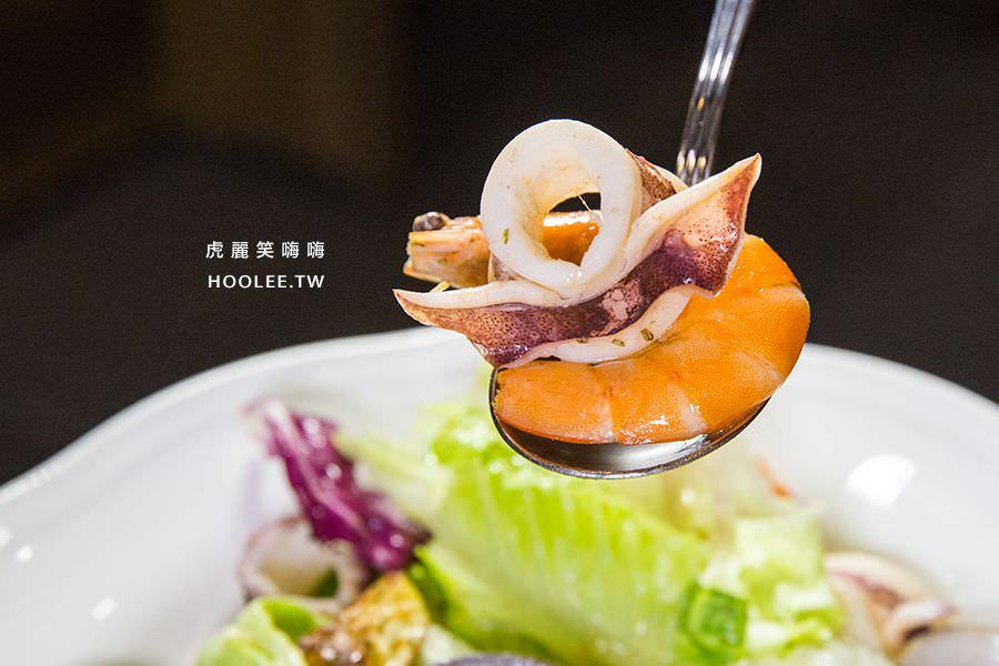 天使餐坊異國料理 高雄 海鮮溫沙拉