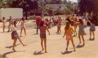 Dancing at CHS - 1972