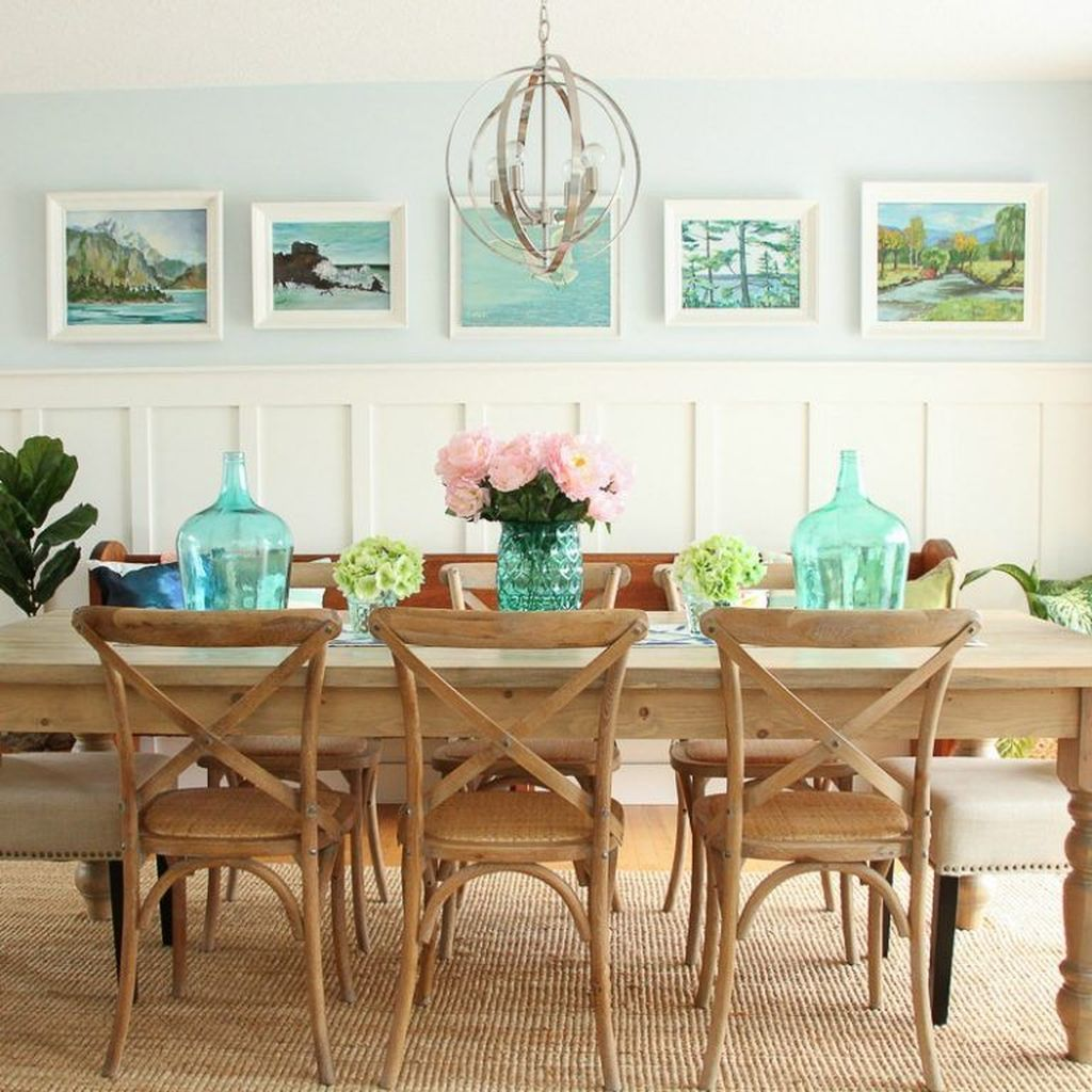 Amazing Summer Dining Room Decor Ideas 13