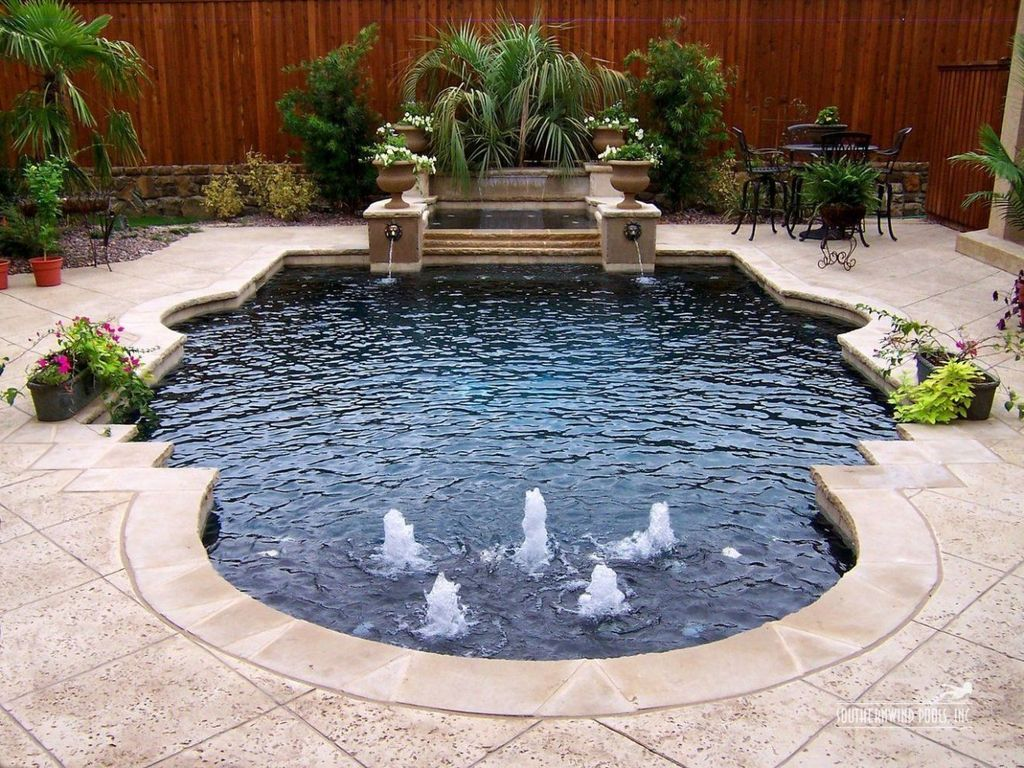 Lovely Small Swimming Pool Design Ideas On A Budget 05