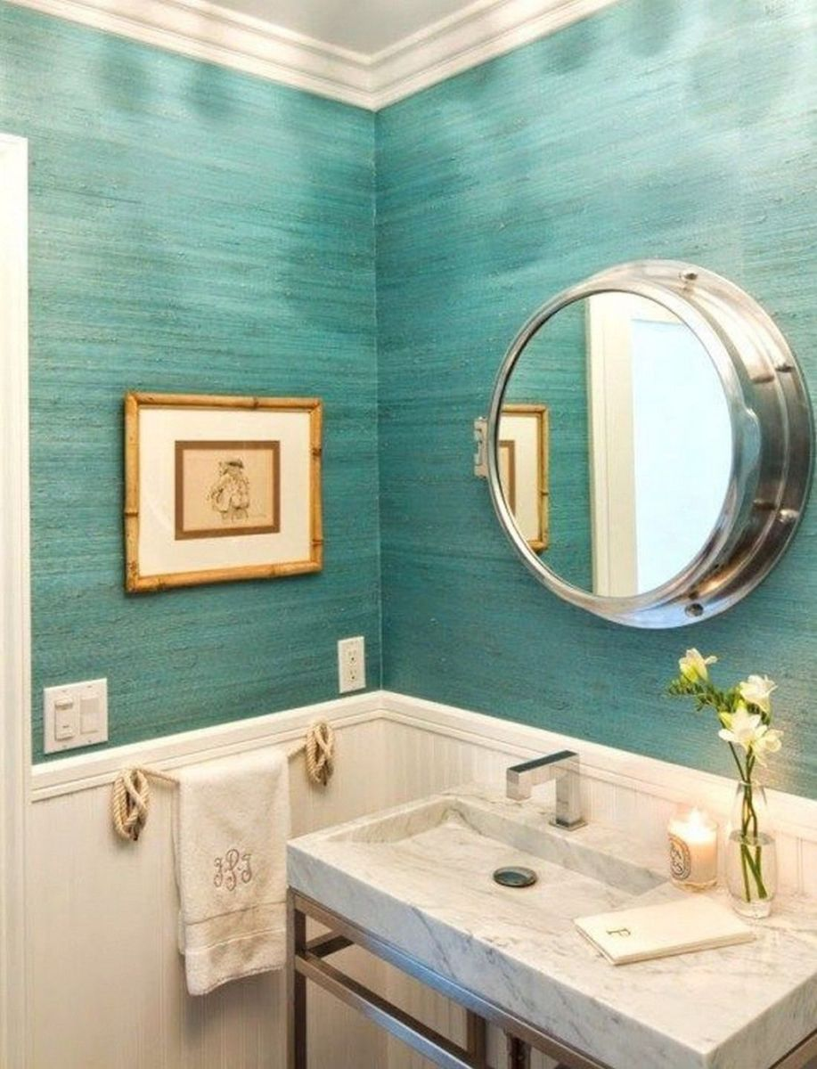 Amazing Beach Bathroom Decoration Ideas 16