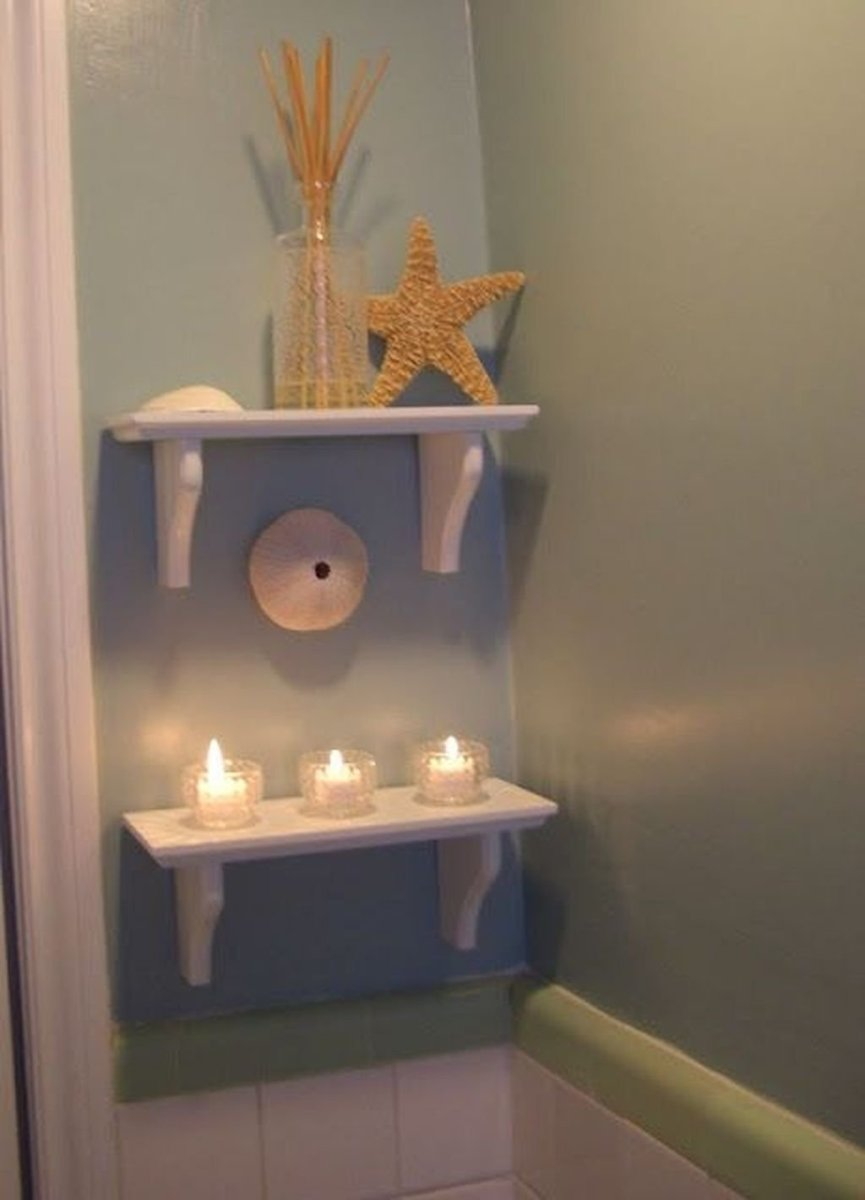 Amazing Beach Bathroom Decoration Ideas 24