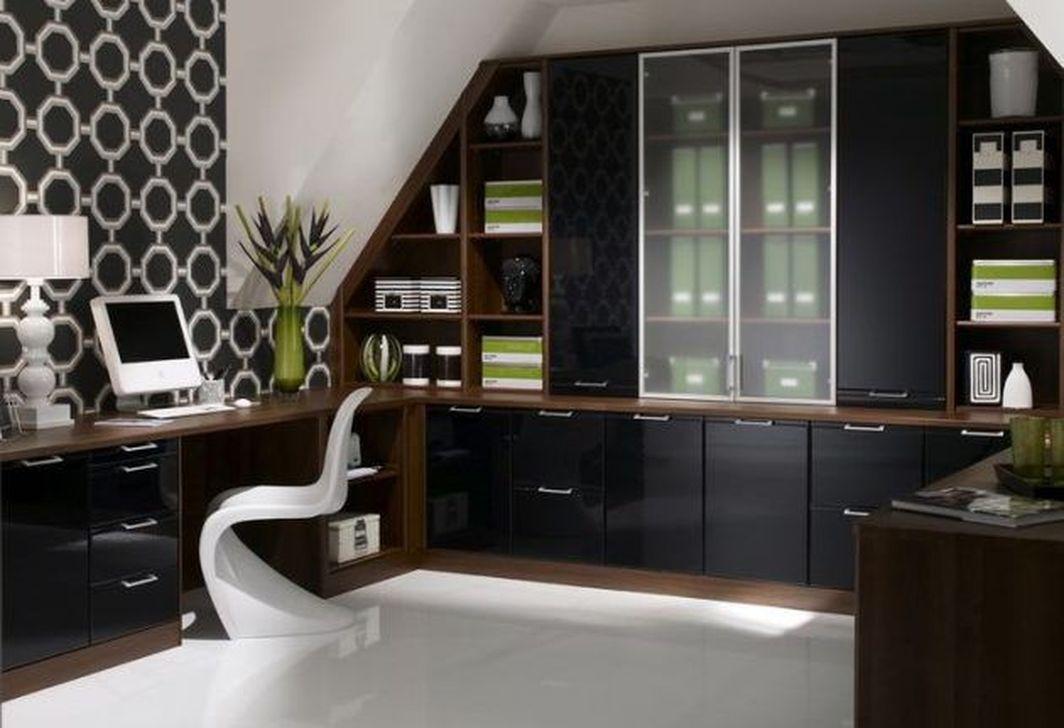 Amazing Contemporary Home Office Design Ideas 03