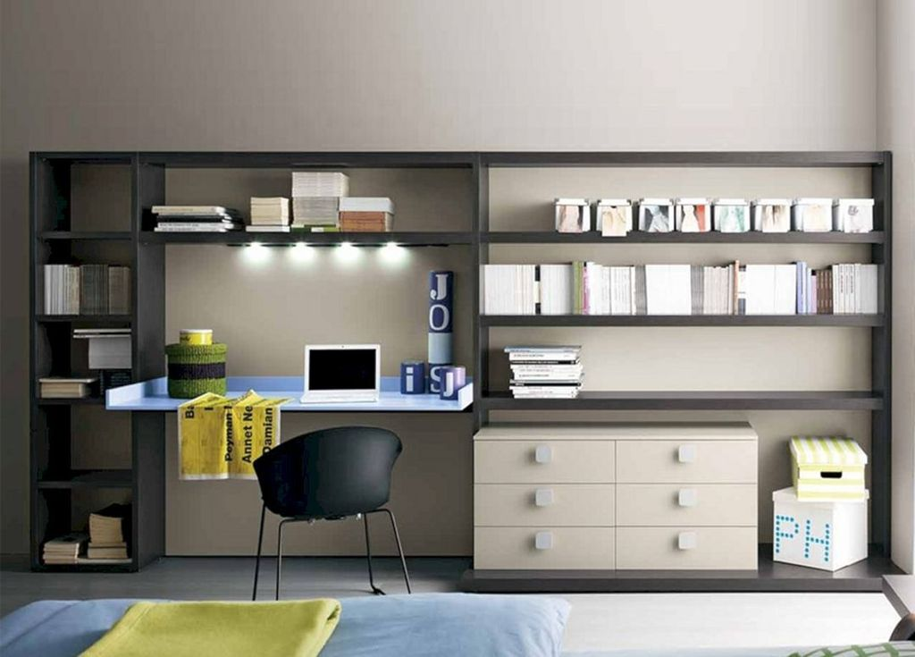 Amazing Contemporary Home Office Design Ideas 12