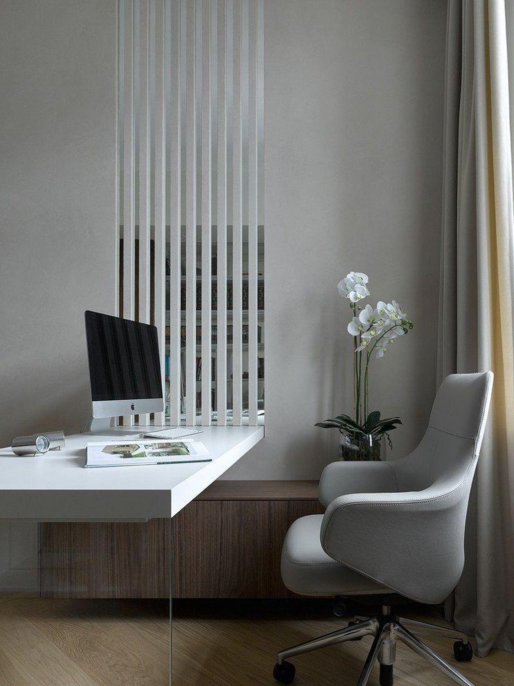 Amazing Contemporary Home Office Design Ideas 14