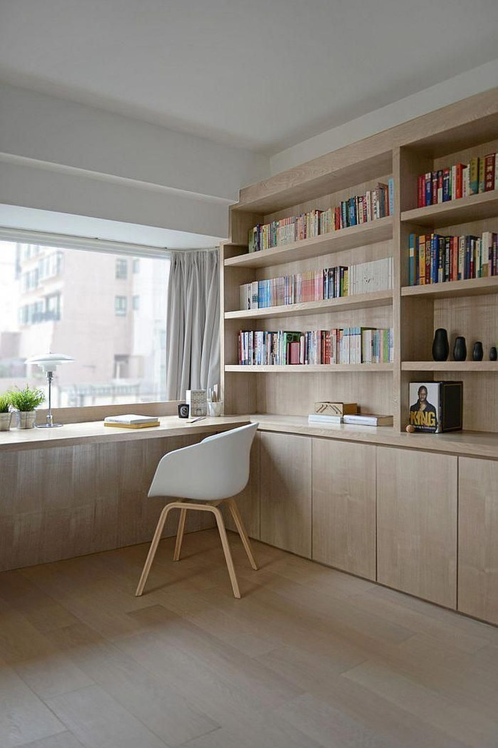 Amazing Contemporary Home Office Design Ideas 19