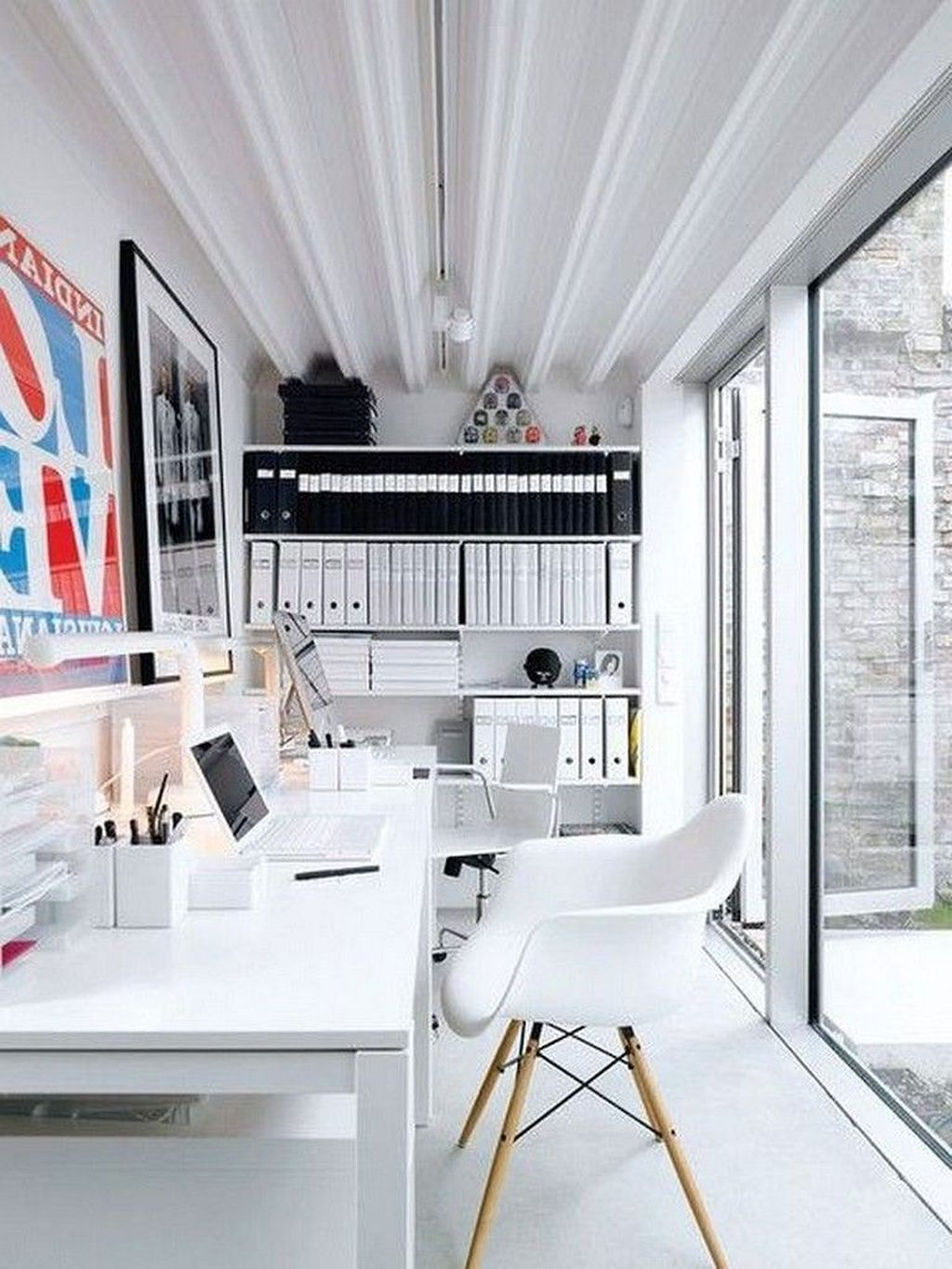 Amazing Contemporary Home Office Design Ideas 20