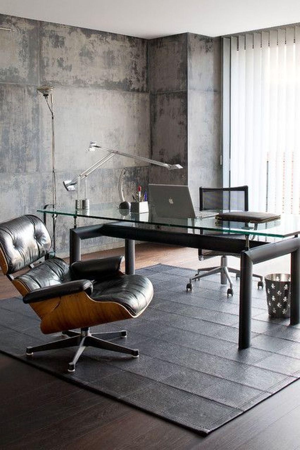 Amazing Contemporary Home Office Design Ideas 22
