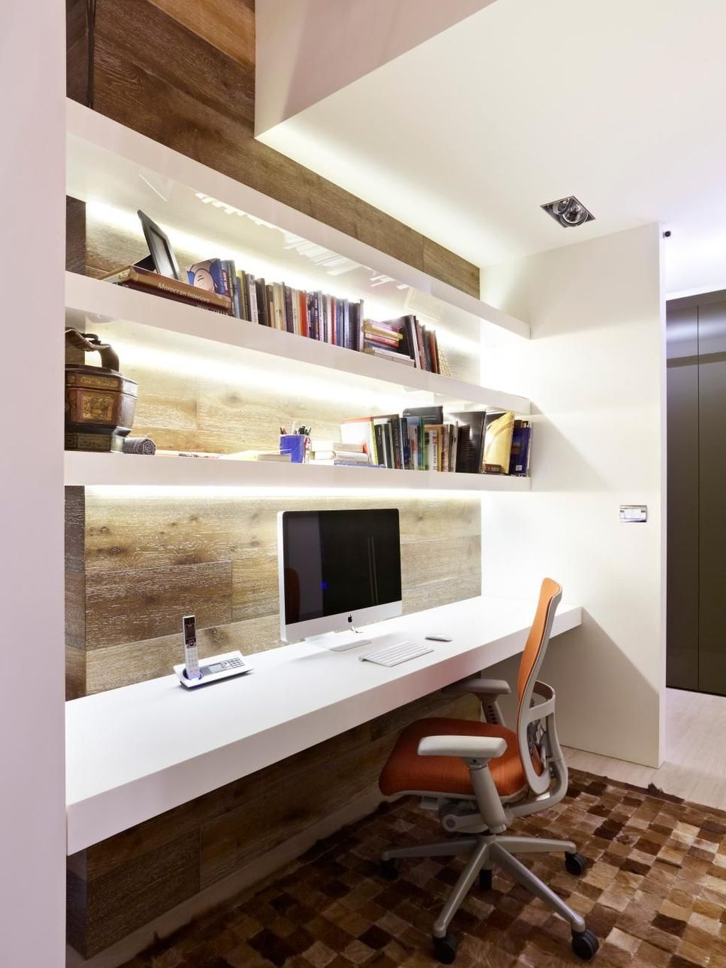 Amazing Contemporary Home Office Design Ideas 23