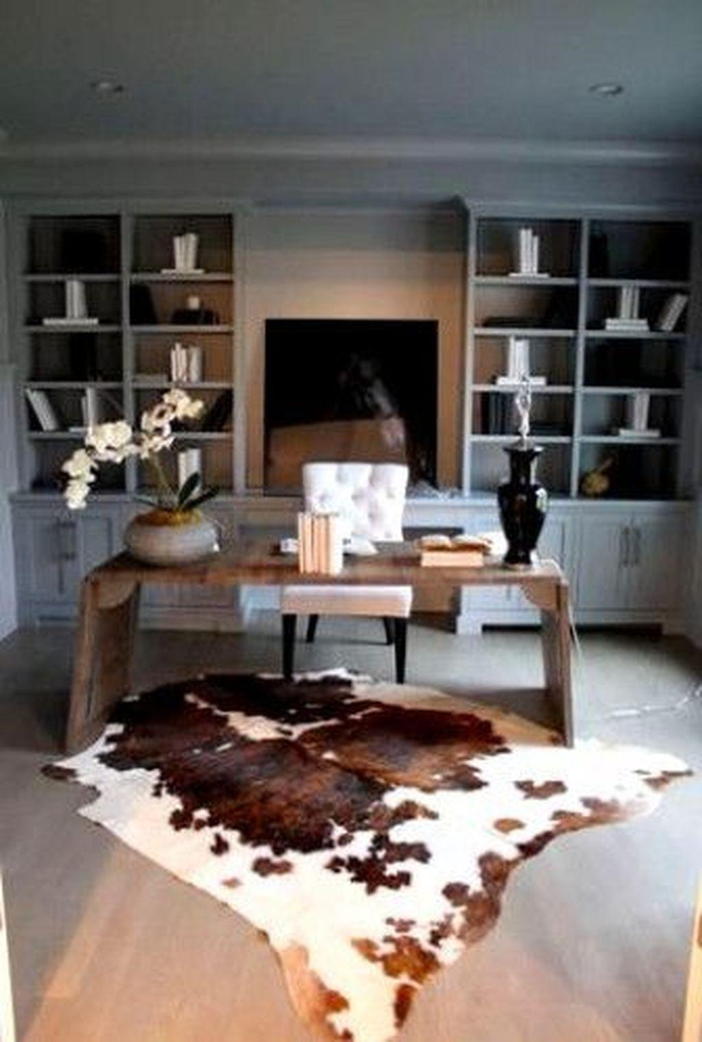 Amazing Contemporary Home Office Design Ideas 29