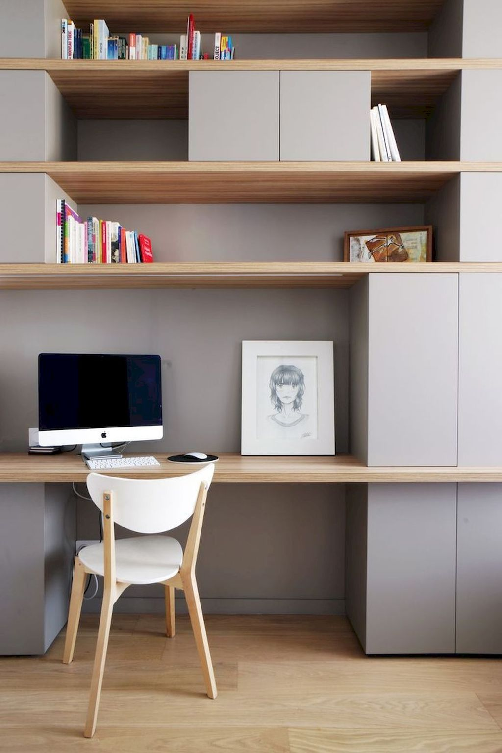 Amazing Contemporary Home Office Design Ideas 32