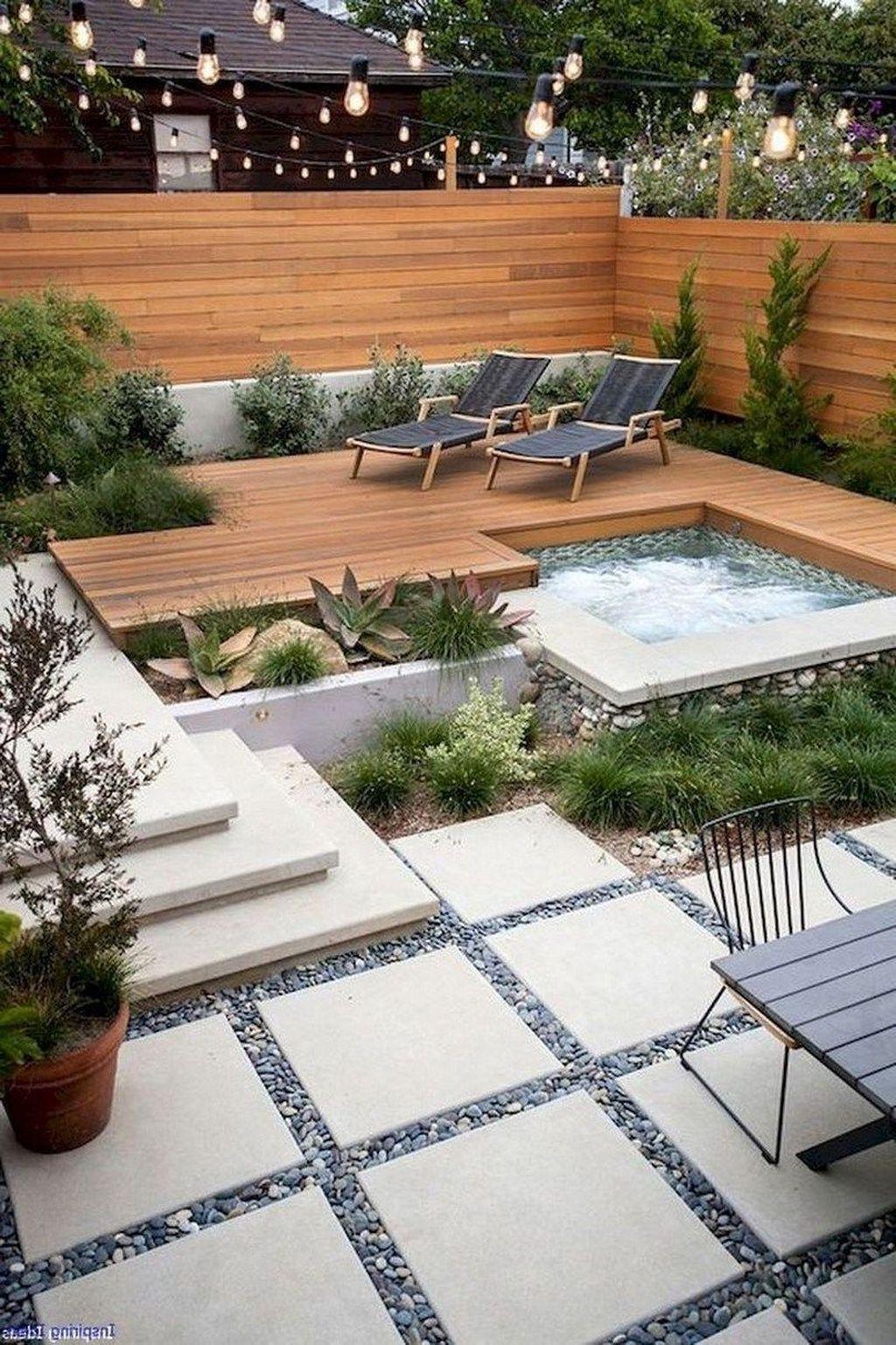 Awesome Backyard Landscaping Ideas With Elegant Accent 02