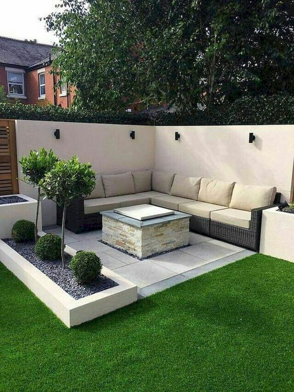 Awesome Backyard Landscaping Ideas With Elegant Accent 24