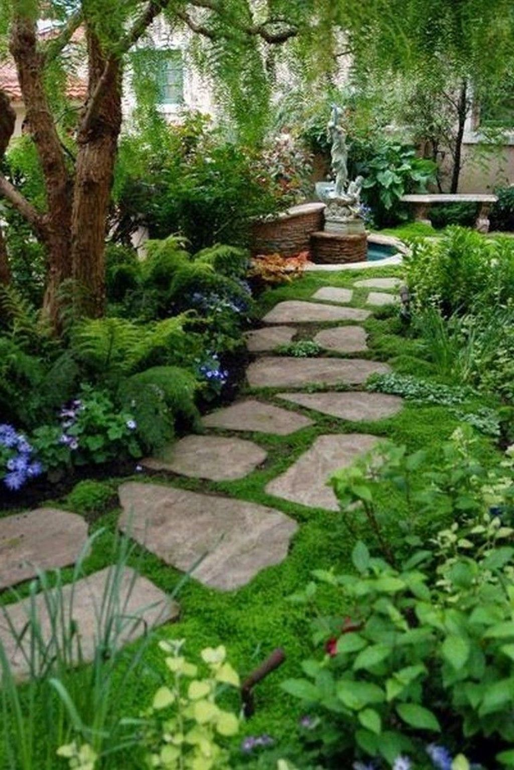 Awesome Backyard Landscaping Ideas With Elegant Accent 28