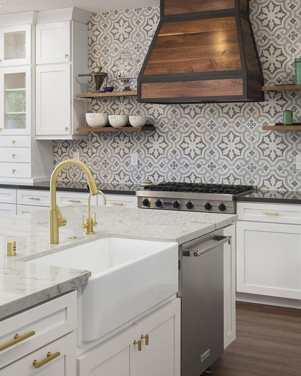 Awesome Creative Kitchen Backsplash Ideas 14