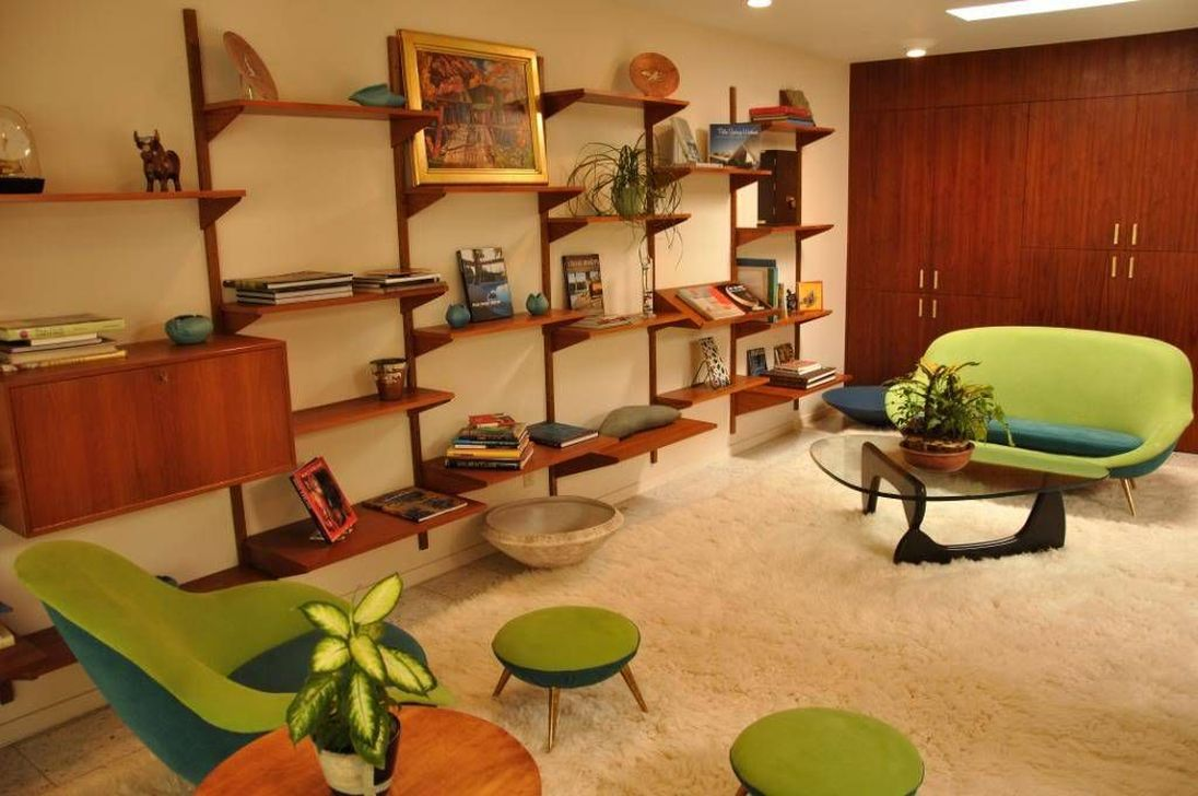 Awesome Modern Mid Century Living Room Decoration Ideas 07
