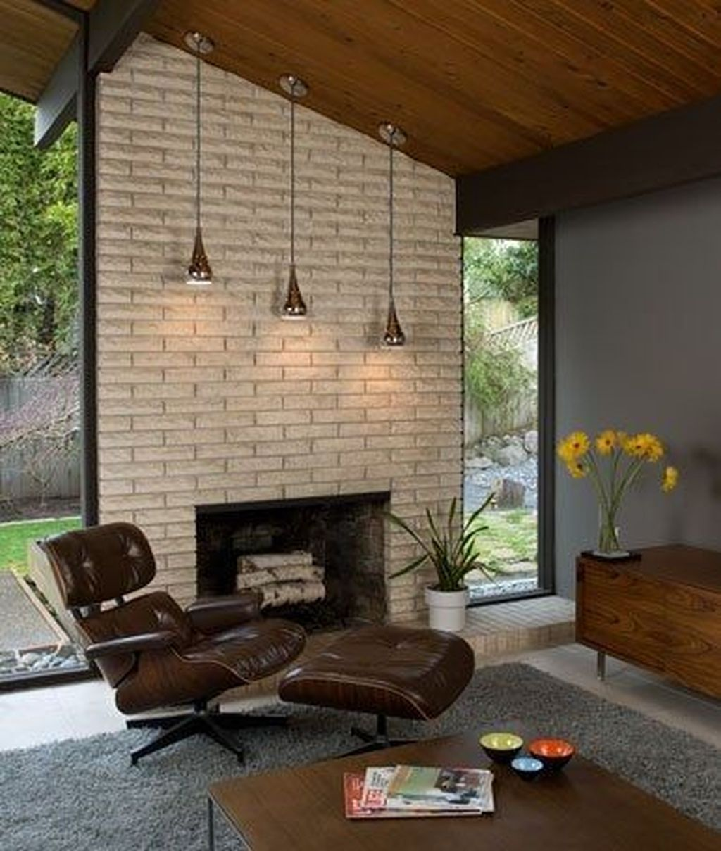 Awesome Modern Mid Century Living Room Decoration Ideas 28