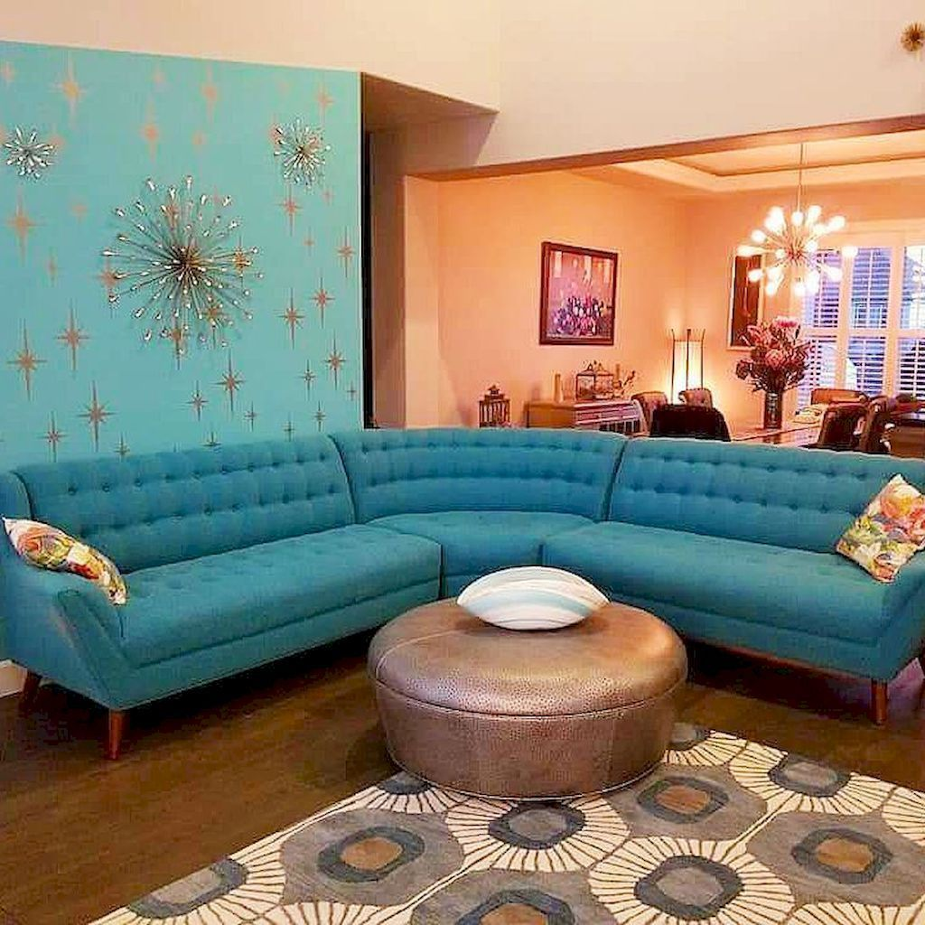 Awesome Modern Mid Century Living Room Decoration Ideas 32