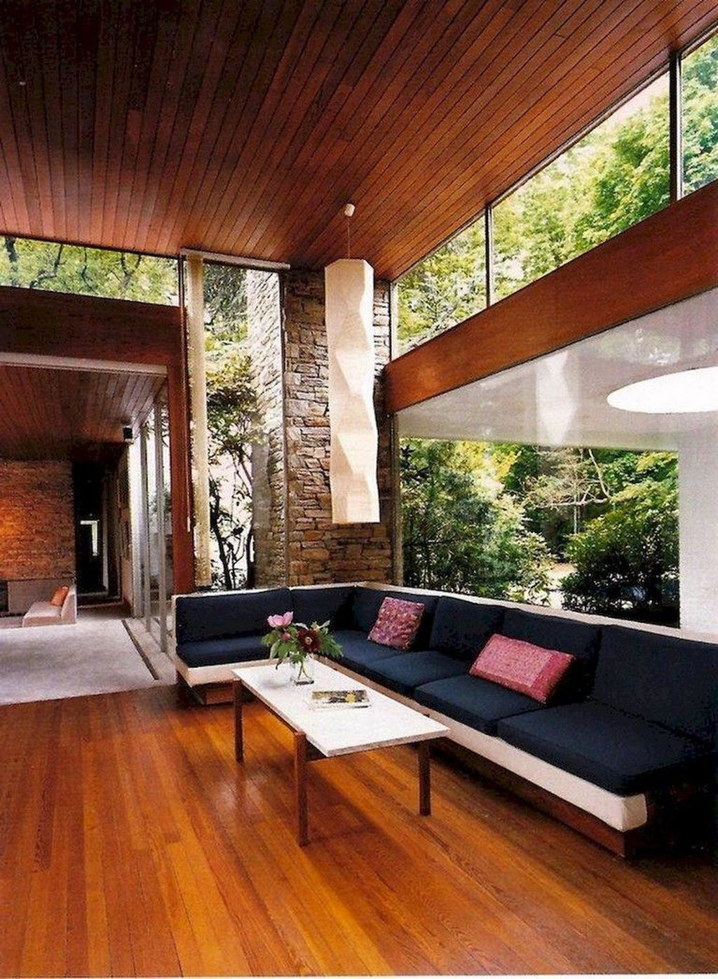 Awesome Modern Mid Century Living Room Decoration Ideas 35