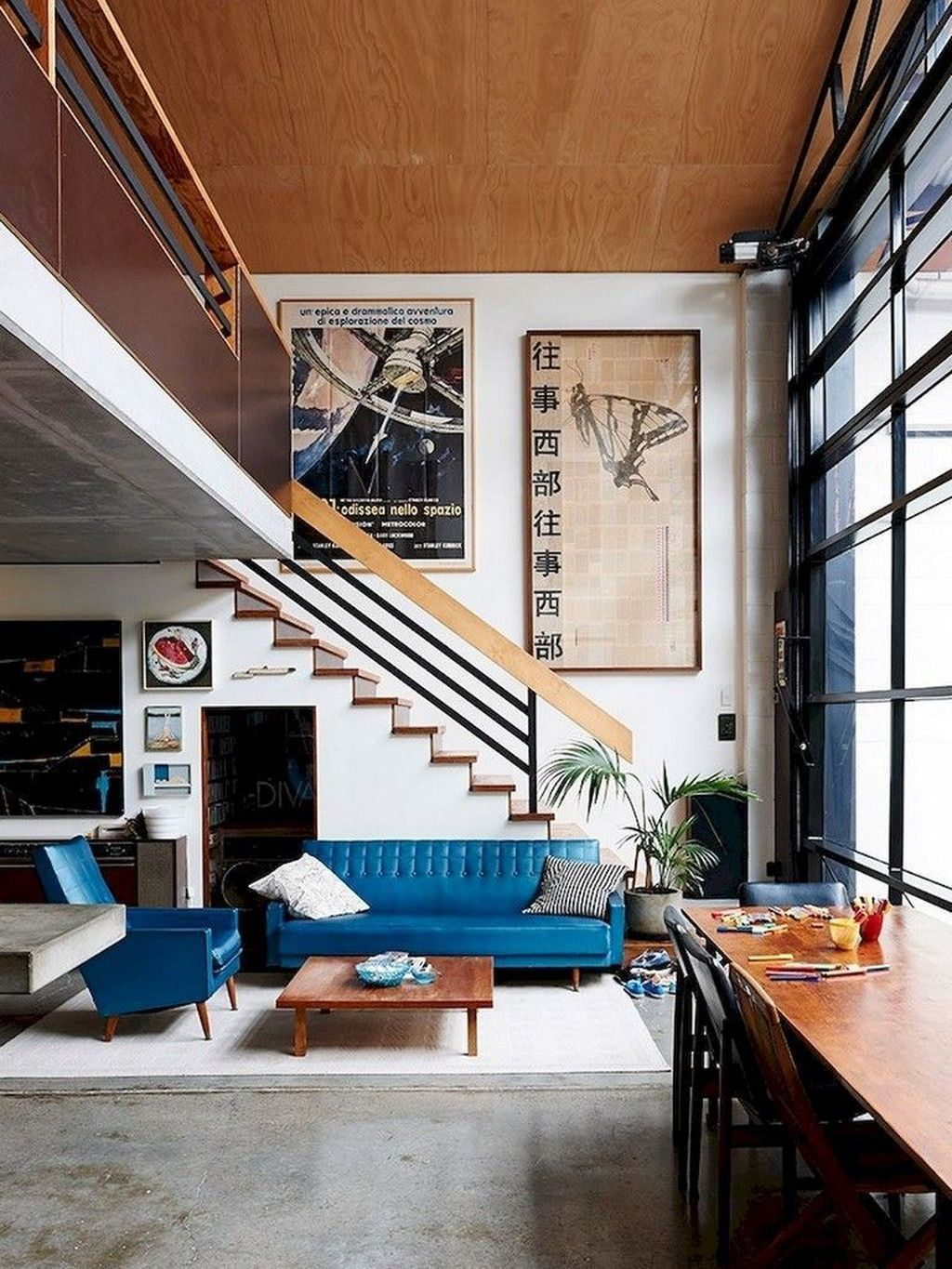 Awesome Modern Mid Century Living Room Decoration Ideas 38