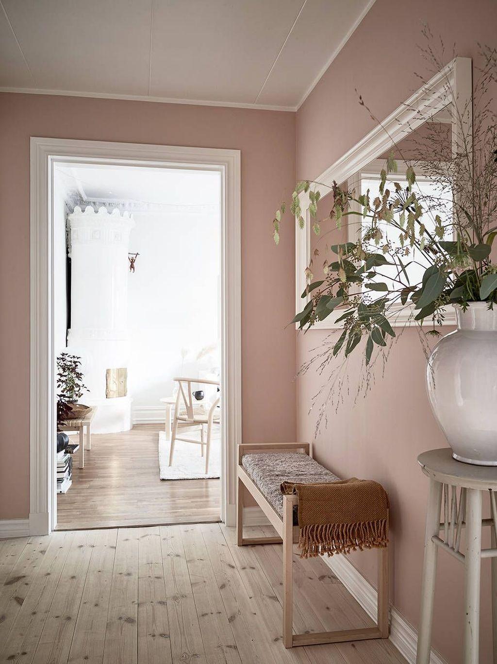 Beautiful Pink Living Room Decor Ideas 28