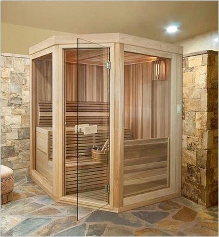 Beautiful Sauna Design Ideas For Your Bathroom 15