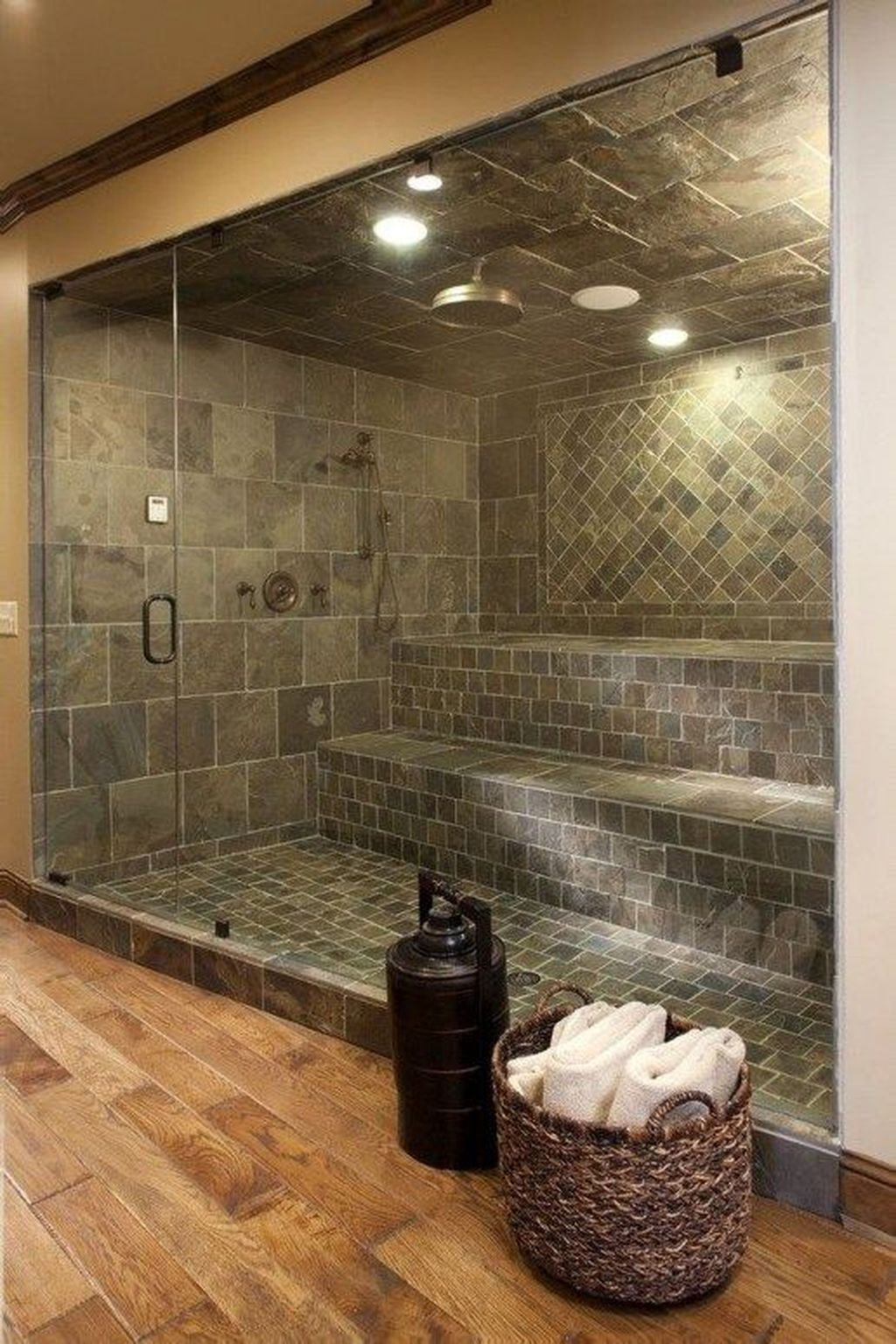 Beautiful Sauna Design Ideas For Your Bathroom 19